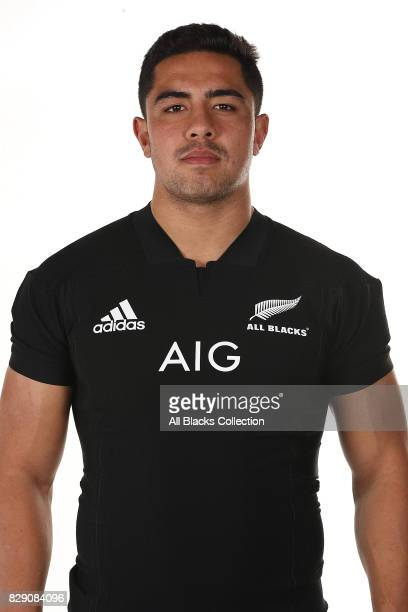 Anton LienertBrown poses during a New Zealand All Blacks headshots session at The Heritage Hotel on August 10 2017 in Auckland New Zealand