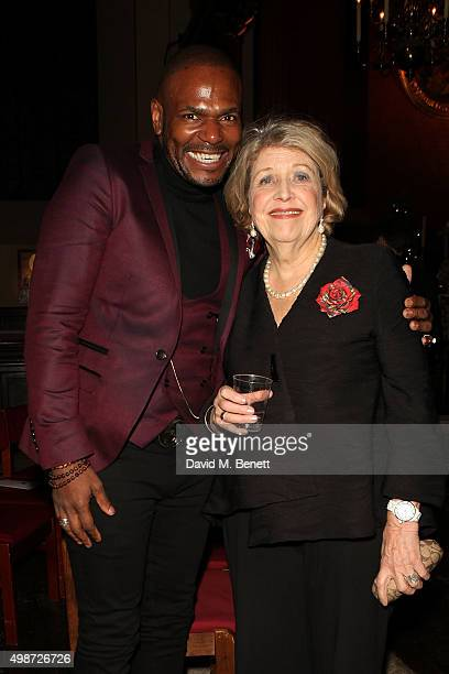 Anton Stepmans and Anne Reid attend 'A Source of Life 25 Years of the Ian Charleson Day Centre' a special presentation to commemorate the 25th...