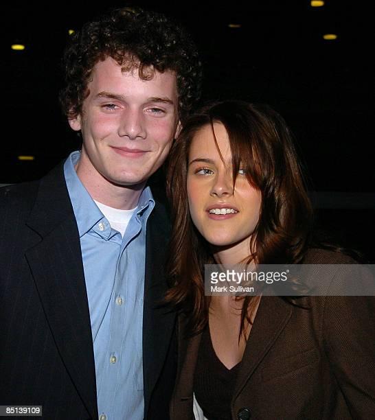 Anton Yelchin and Kristen Stewart
