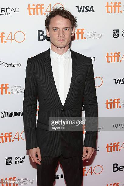 Anton Yelchin attends the 'Green Room/The Chickening' premiere at Ryerson Theatre during the 2015 Toronto International Film Festival on September 10...