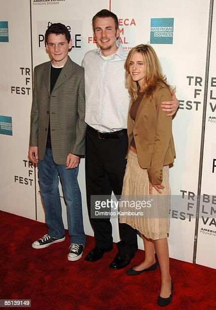 Anton Yelchin Chris Evans and Kristen Stewart