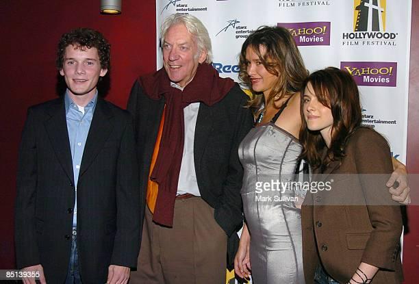 Anton Yelchin Donald Sutherland Paz de la Huerta and Kristen Stewart