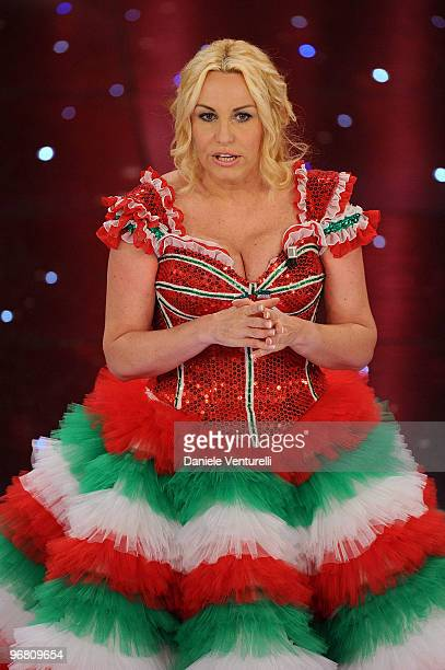 Antonell Clerici attends the 60th Sanremo Song Festival at the Ariston Theatre on February 17 2010 in San Remo Italy