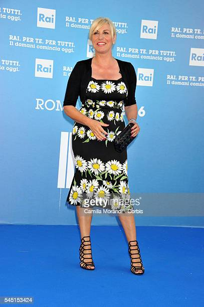 Antonella Clerici at the Rai Show Schedule on July 5 2016 in Rome Italy