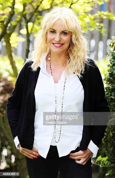 Antonella Clerici attends the 'Senza Parole' TV show press conference at RAI on April 8 2015 in Rome Italy