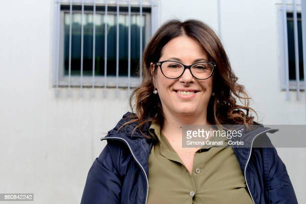 Antonella De Benedictis Defence lawyer of Carabiniere Di Bernardo during the first hearing of the new trial against five military police officers for...