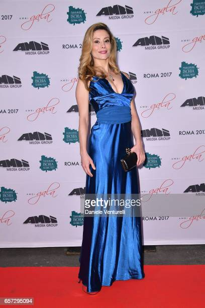 Antonella Salvucci attends AMBI GALA In Honour Of Andy Garcia And Bobby Moresco on March 23 2017 in Rome Italy