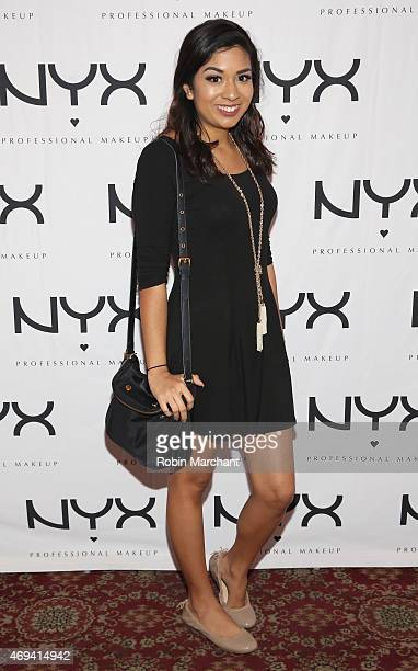 Antonella Schiaffino attends the NYX VIP Dine Unwind at Hudson Terrace on April 11 2015 in New York City