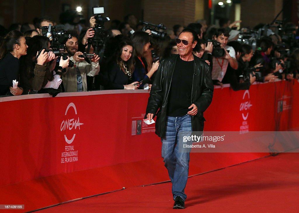 Antonello Venditti attends the Opening Ceremony and 'L'Ultima Ruota Del Carro' Premiere during The 8th Rome Film Festival on November 8 2013 in Rome...