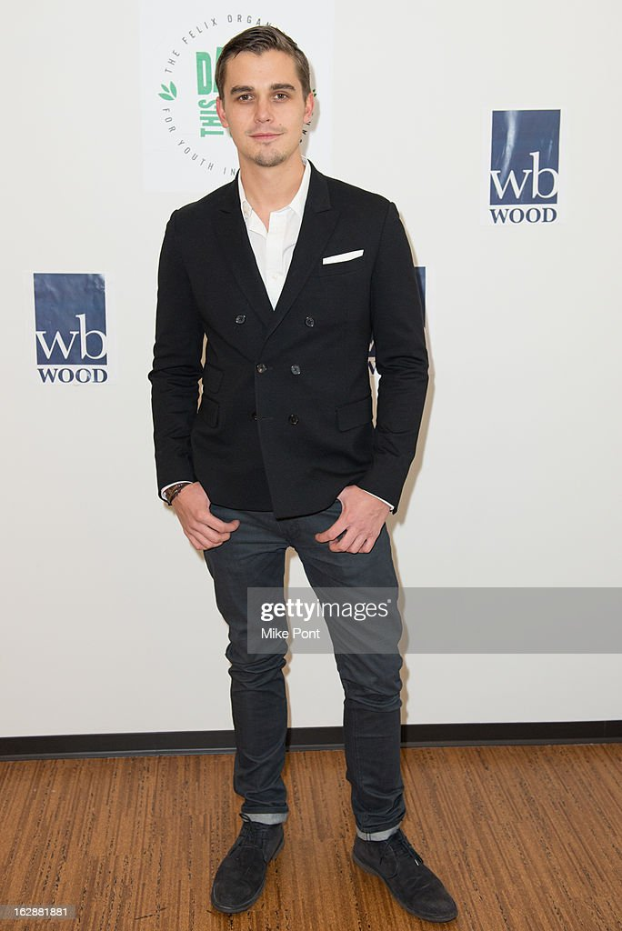 Antoni Porowski attends the Dance This Way launch party at WB Wood on February 28, 2013 in New York City.