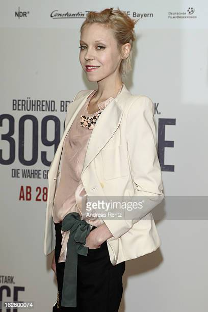 Antonia CampbellHughes attends the '3096 Tage' Berlin Premiere at CineStar on February 27 2013 in Berlin Germany