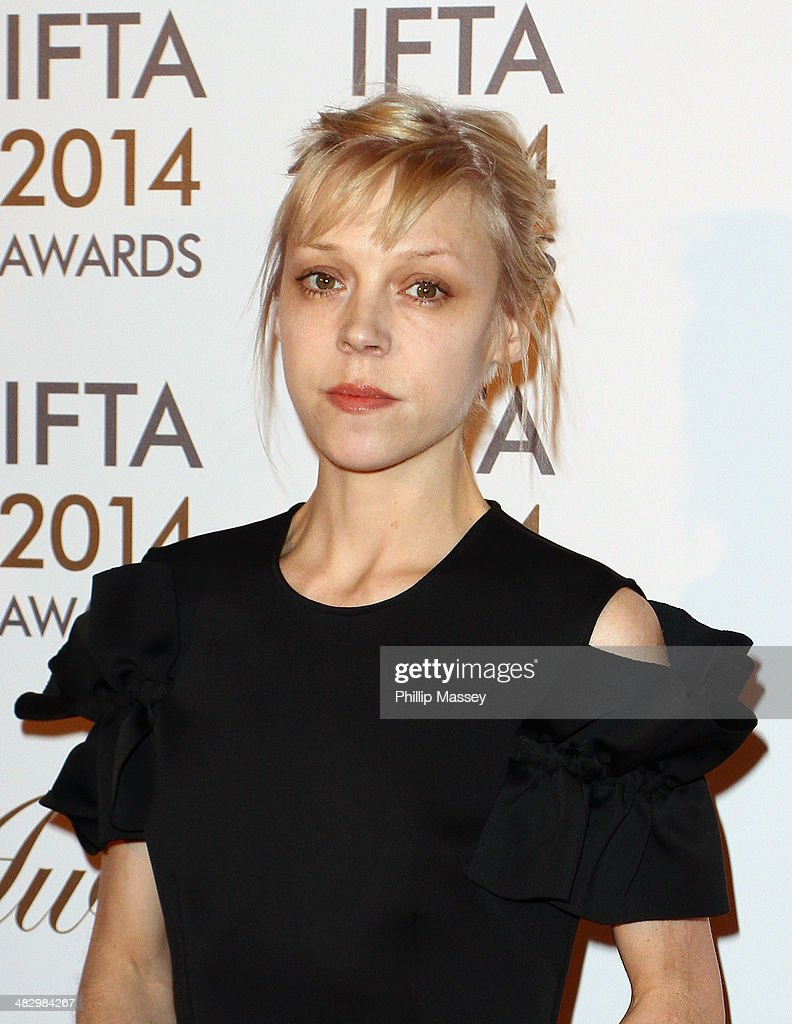 <a gi-track='captionPersonalityLinkClicked' href=/galleries/search?phrase=Antonia+Campbell-Hughes&family=editorial&specificpeople=5292533 ng-click='$event.stopPropagation()'>Antonia Campbell-Hughes</a> attends the Irish Film And Television Awards on April 5, 2014 in Dublin, Ireland.