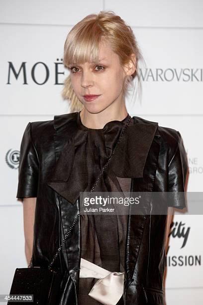 Antonia CampbellHughes attends the Moet British Independent Film awards at Old Billingsgate Market on December 8 2013 in London England