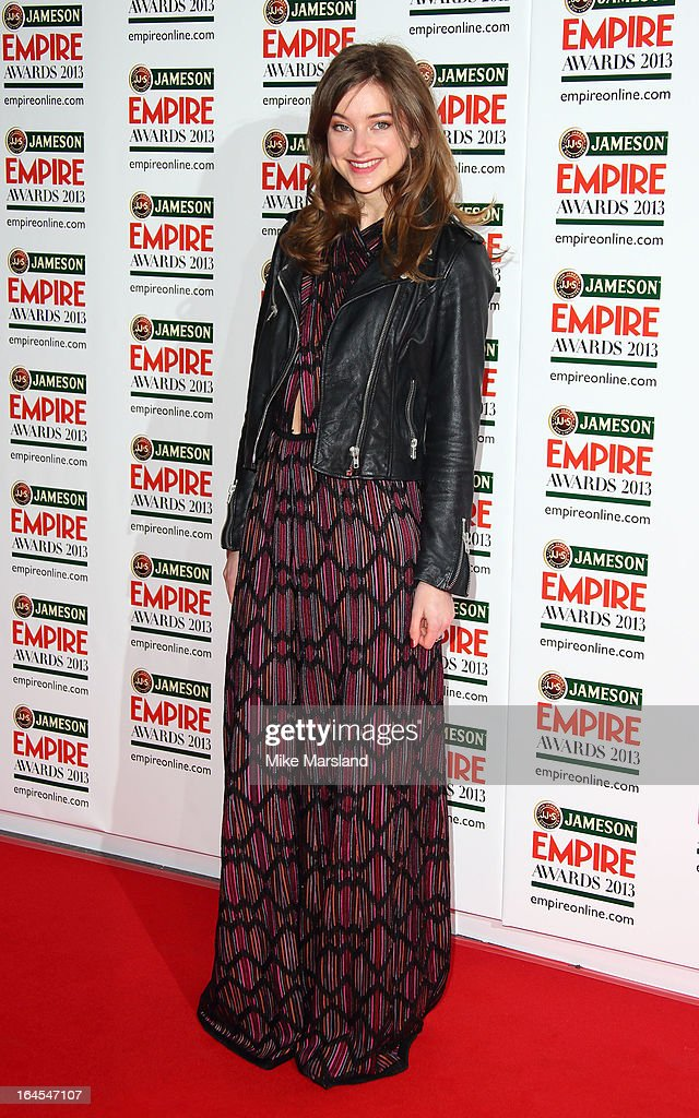 Antonia Clarke attends the 18th Jameson Empire Film Awards at Grosvenor House, on March 24, 2013 in London, England.