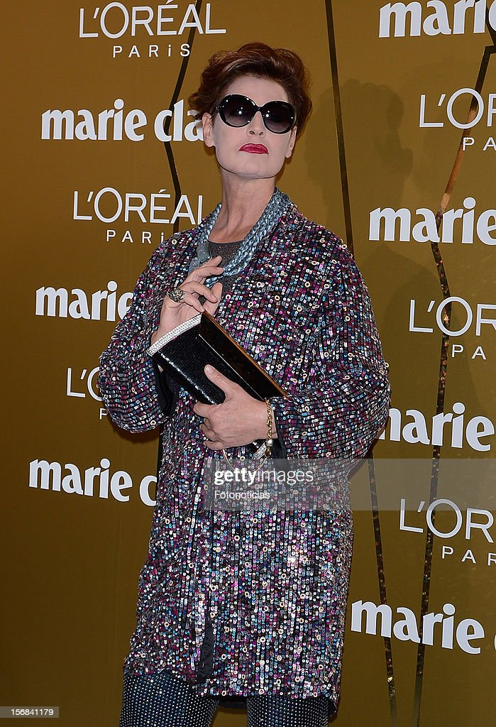 Antonia Dell'Atte attends 'Marie Claire Prix de la Mode 2012' ceremony at the French Ambassadors Residence on November 22, 2012 in Madrid, Spain.