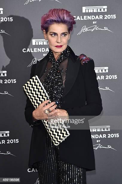 Antonia Dell'Atte attends the 2015 Pirelli Calendar Red Carpet on November 18 2014 in Milan Italy