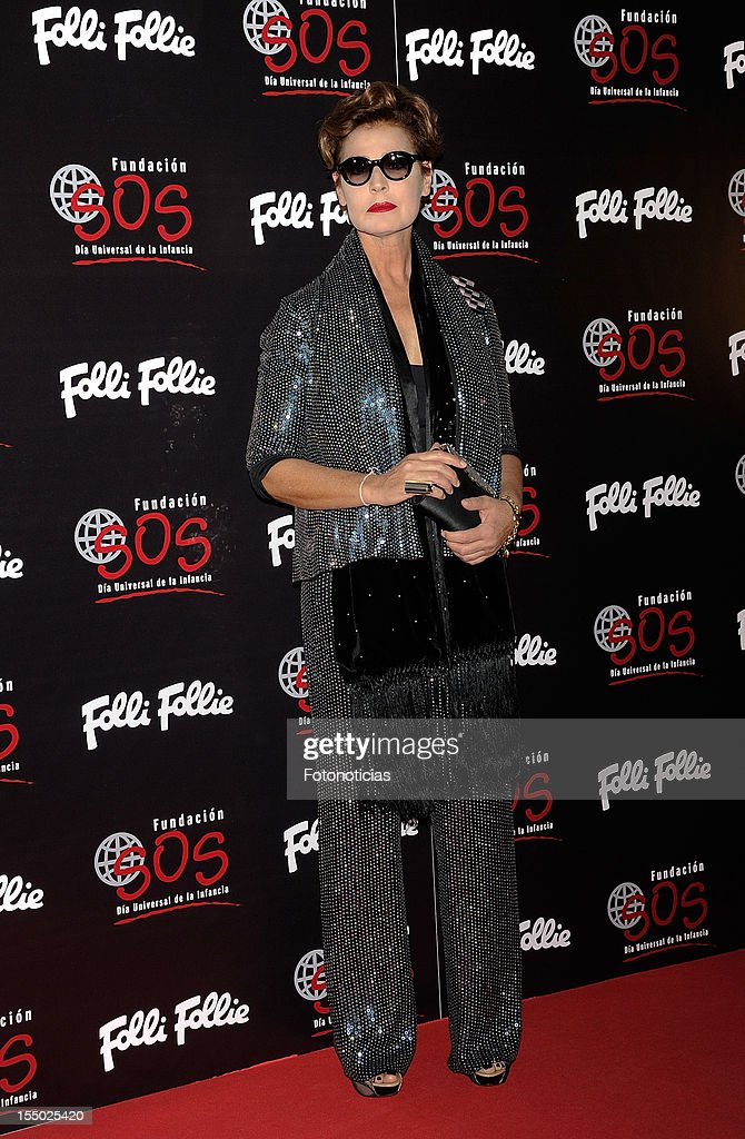 Antonia Dell'Atte attends the 'Folli Follie' campaign launch at the Casino de Madrid on October 30, 2012 in Madrid, Spain.
