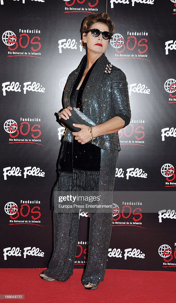 Antonia Dell'Atte attends the 'Folli Follie' campaign launch on October 30, 2012 in Madrid, Spain.