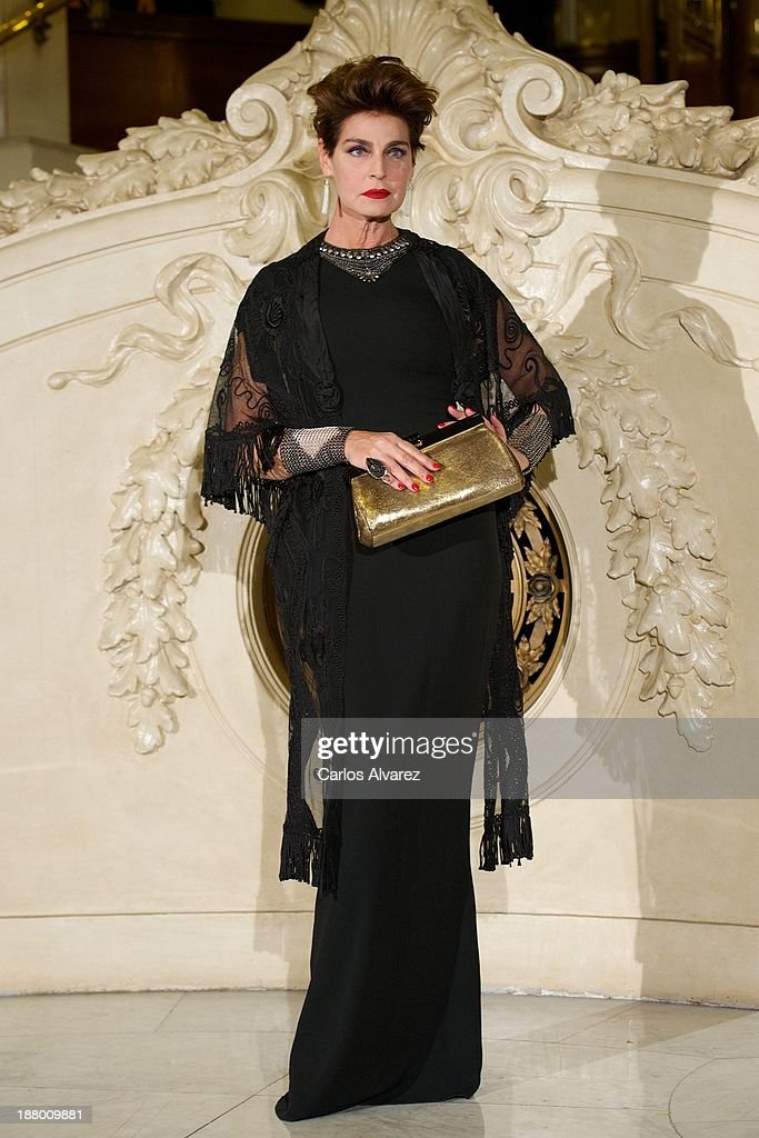 Antonia Dell'Atte attends the Ralph Lauren Dinner Charity Gala at the Casino de Madrid in on November 14, 2013 in Madrid, Spain.