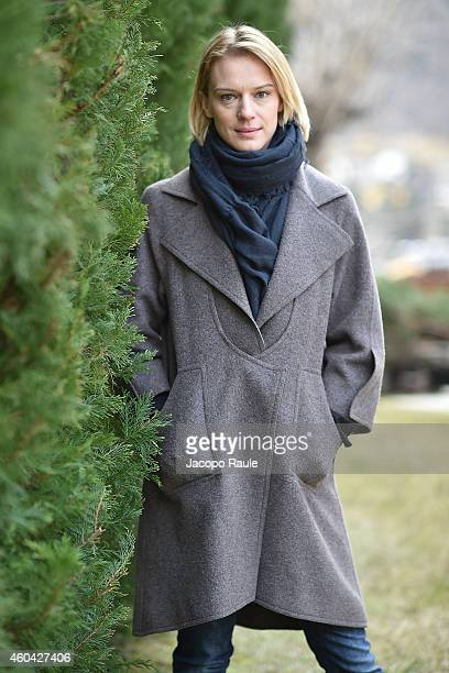 Antonia Liskova attends day 5 of 24th Courmayeur Noir In Festival on December 13 2014 in Courmayeur Italy