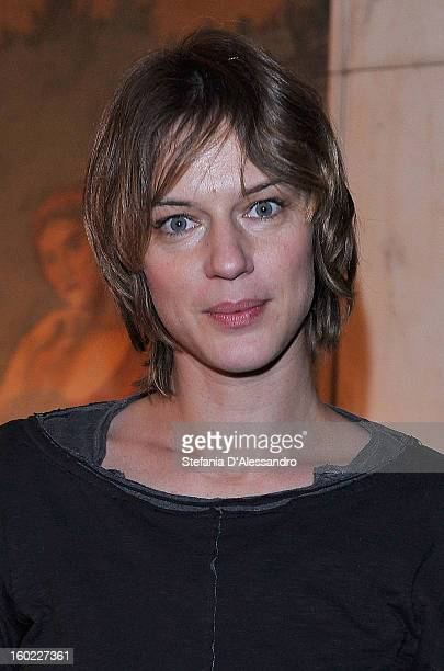 Antonia Liskova attends 'Il Gioco dell'Amore e del Caso' Photocall held at Teatro Manzoni on January 28 2013 in Milan Italy