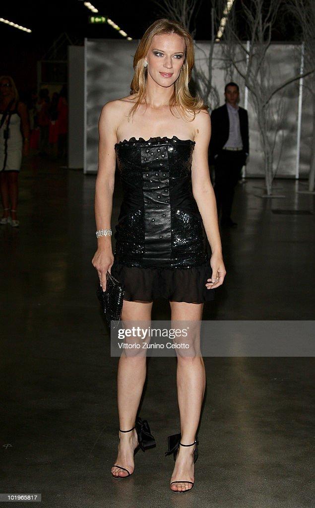 Antonia Liskova attends the 2010 Convivio held at Fiera Milano City on June 10, 2010 in Milan, Italy.