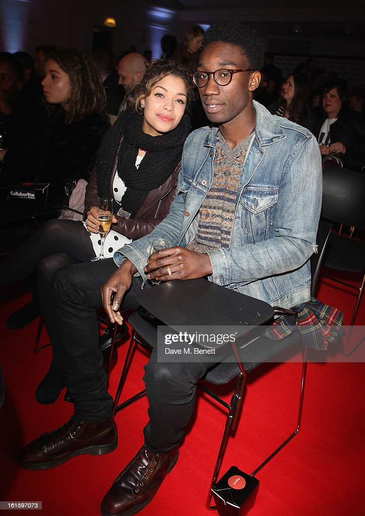 Antonia Thomas and Nathan Stewart attends the Collabor8te Connected by NOKIA Premiere at Regent Street Cinema on February 12, 2013 in London, England.