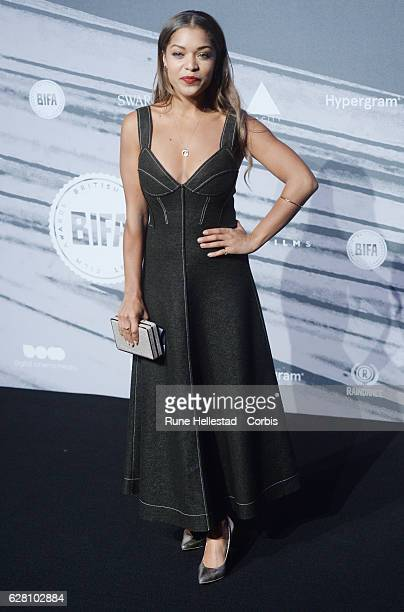 Antonia Thomas attends at The British Independent Film Awards Old Billingsgate Market on December 04 2016 in London England