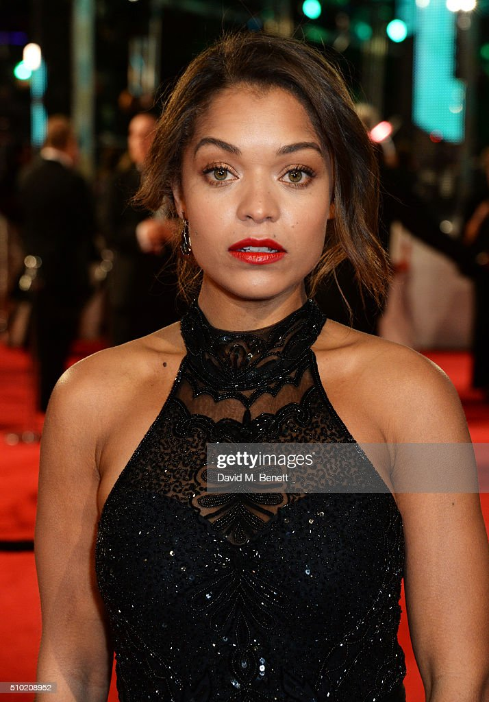 <a gi-track='captionPersonalityLinkClicked' href=/galleries/search?phrase=Antonia+Thomas&family=editorial&specificpeople=6700401 ng-click='$event.stopPropagation()'>Antonia Thomas</a> attends the EE British Academy Film Awards at The Royal Opera House on February 14, 2016 in London, England.