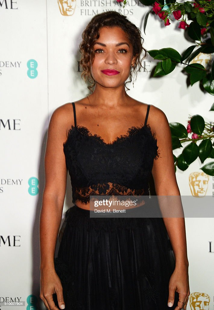 <a gi-track='captionPersonalityLinkClicked' href=/galleries/search?phrase=Antonia+Thomas&family=editorial&specificpeople=6700401 ng-click='$event.stopPropagation()'>Antonia Thomas</a> attends the Lancome BAFTA nominees party at Kensington Palace on February 13, 2016 in London, England.