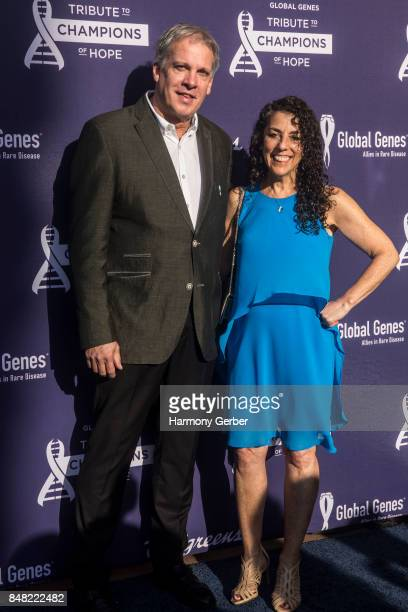 Antonie Kline attends the Global Genes' 6th Annual Tribute To Champions Of Hope Awards at City National Grove of Anaheim on September 16 2017 in...