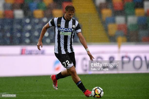 Antonin Barak of Udinese in action during the Serie A match between Udinese Calcio and Genoa CFC at Stadio Friuli on September 10 2017 in Udine Italy