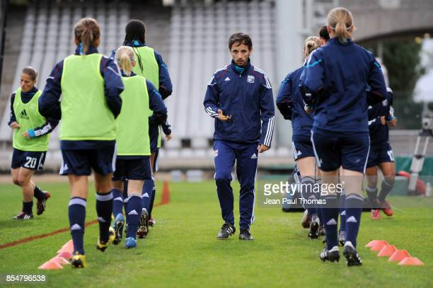 Antonin DA FONSCECA PREPARATEUR PHYSIQUE Lyon / FC Rossiyanka 8eme de Finale Ligue des champions