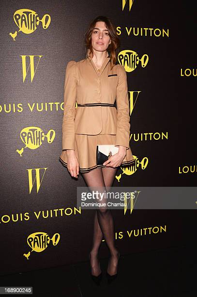 Antonine Peduzzi attends The Bling Ring Party hosted by Louis Vuitton during the 66th Annual Cannes Film Festival at Club d'Albane/JW Marriott on May...