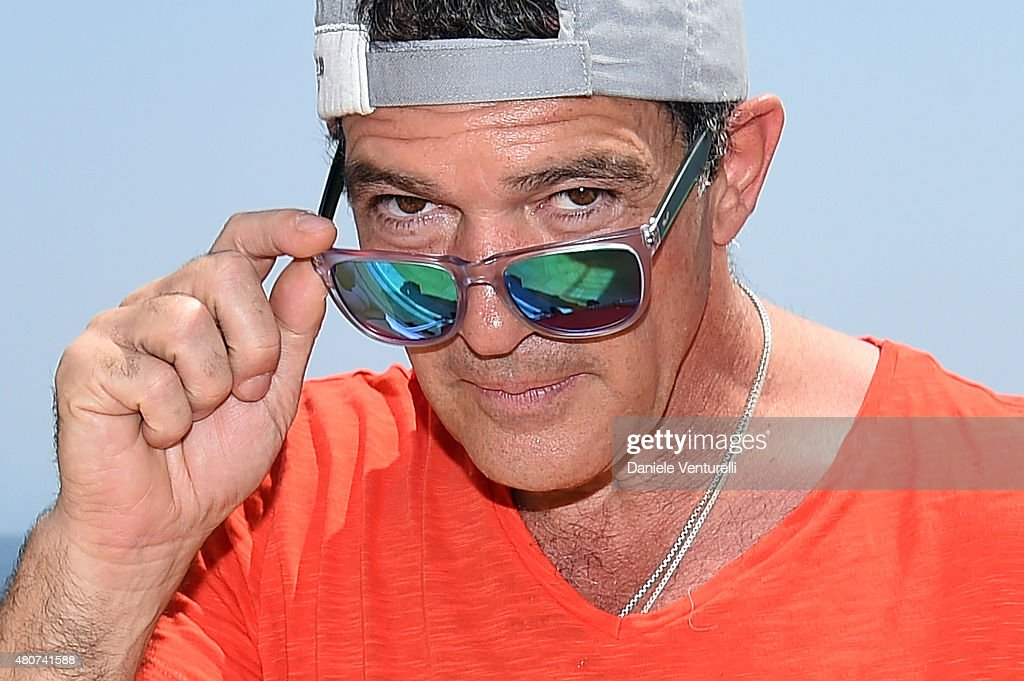 <a gi-track='captionPersonalityLinkClicked' href=/galleries/search?phrase=Antonio+Banderas&family=editorial&specificpeople=171176 ng-click='$event.stopPropagation()'>Antonio Banderas</a> 2015 Ischia Global Film & Music Fest - Day 3 on July 15, 2015 in Ischia, Italy.