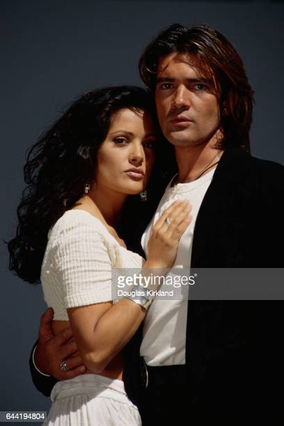 Antonio Banderas and Salma Hayek