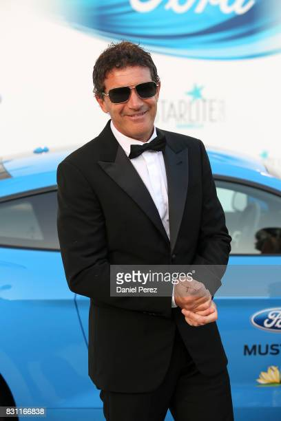 Antonio Banderas attends Starlite Gala on August 13 2017 in Marbella Spain