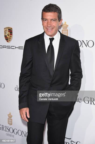 Antonio Banderas attends the De Grisogono Party at the 67th Annual Cannes Film Festival on May 20 2014 in Cap d'Antibes France