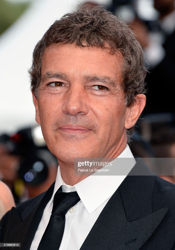 Antonio Banderas attends the 'Sicario' Premiere during the 68th annual Cannes Film Festival on May 19, 2015 in Cannes, France.