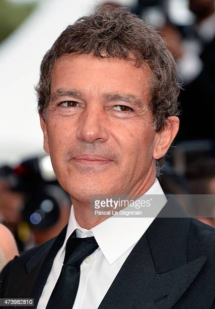 Antonio Banderas attends the 'Sicario' Premiere during the 68th annual Cannes Film Festival on May 19 2015 in Cannes France