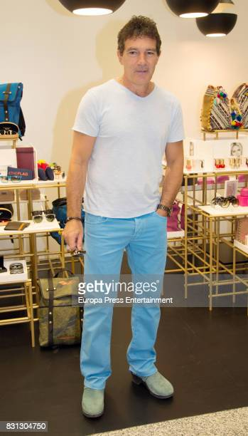 Antonio Banderas present their new collections on August 12 2017 in Marbella Spain