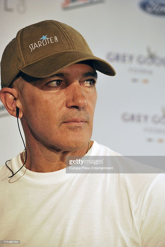 Antonio Banderas Presents 'Starlite Gala' 2013 in Madrid