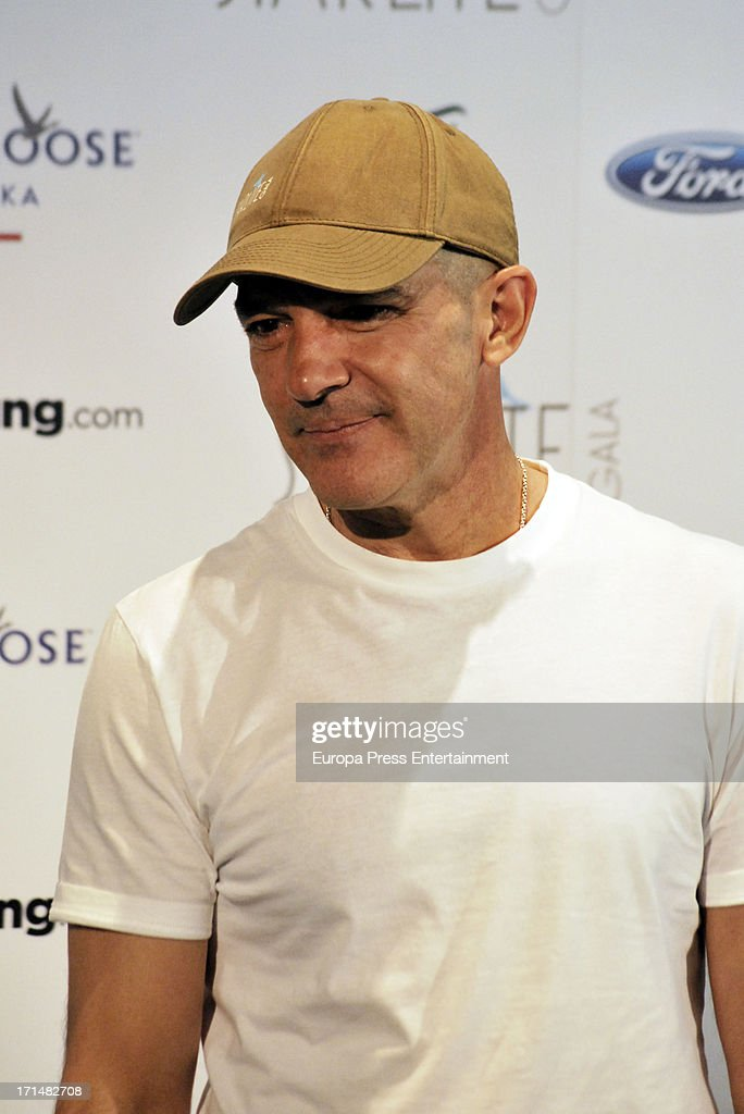 Antonio Banderas presents 'Starlite Gala' 2013 on June 25, 2013 in Madrid, Spain.