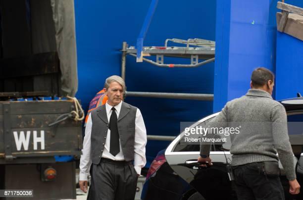 Antonio Banderas seen leaving his latest production 'Genius' on November 8 2017 in Sitges Spain Antonio Banderas will portray Pablo Picasso for the...