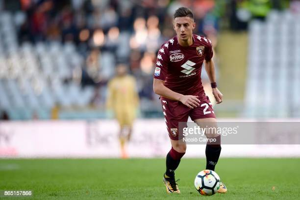 Antonio Barreca of Torino FC in action during the Serie A football match between Torino FC and AS Roma AS Roma won 10 over Torino FC