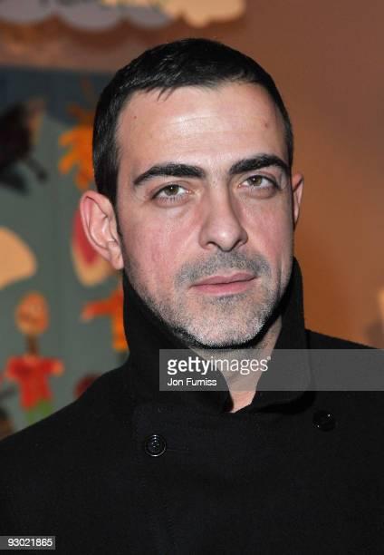 Antonio Berardi attends a designer fashion sale hosted by Harper's Bazaar on November 12 2009 in London England