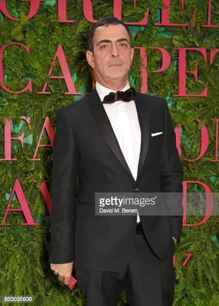 Antonio Berardi attends the Green Carpet Fashion Awards Italia for the Green Carpet Challenge at Teatro Alla Scala on September 24 2017 in Milan Italy
