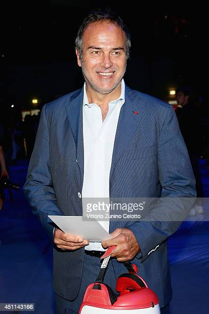 Antonio Cabrini attends the Roberto Cavalli show during the Milan Menswear Fashion Week Spring Summer 2015 on June 24 2014 in Milan Italy