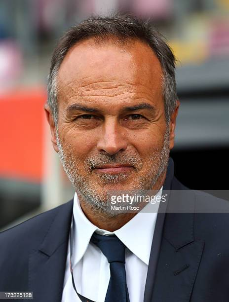 Antonio Cabrini head coach of Italy looks on before the UEFA Women's Euro 2013 group A match at Orjans Vall on July 10 2013 in Halmstad Sweden