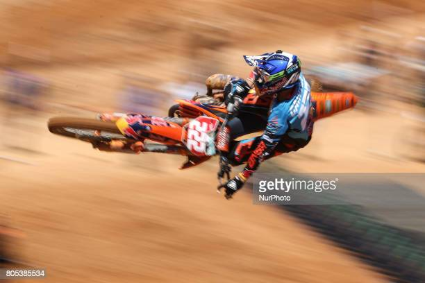 Antonio Cairoli in KTM of Red Bull KTM Factory Racing in action during the MXGP World Championship 2017 Race of Portugal Agueda July 1 2017